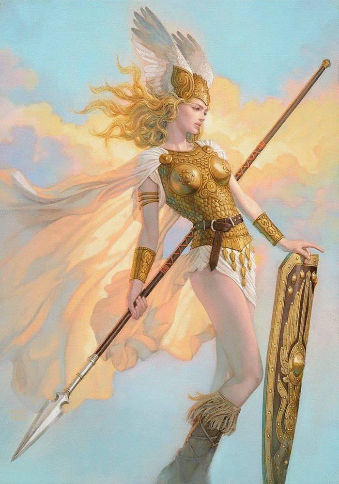 Валькирия — персонаж скандинавской мифологии