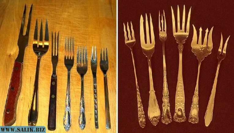К чему падают ножи, ложки, вилки: народные приметы