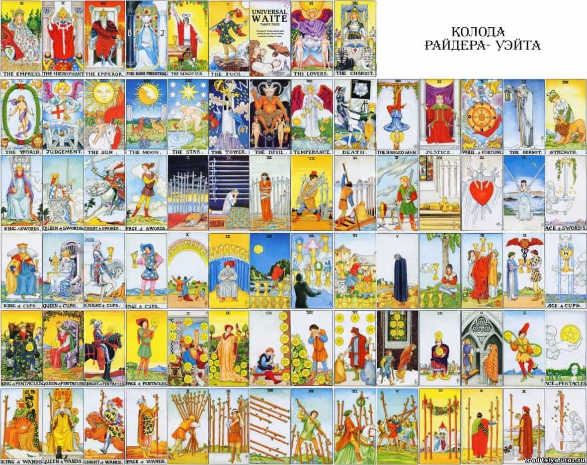 Обзор колоды золотое универсальное таро: история создания, особенности, символы