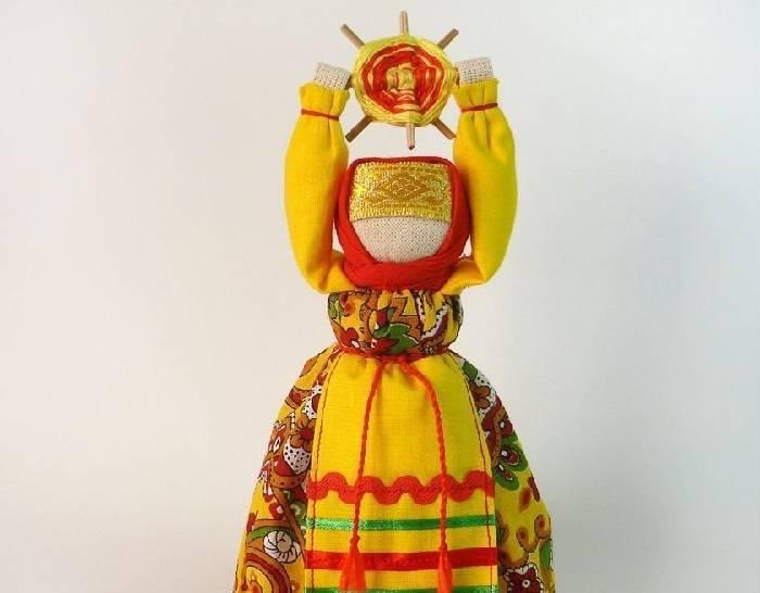 Вепсская кукла капустка: оберег своими руками
