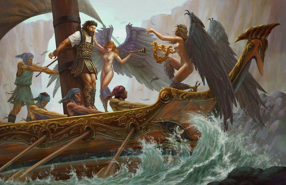 Сирены — губительницы моряков из древнегреческих легенд   | магия любви
