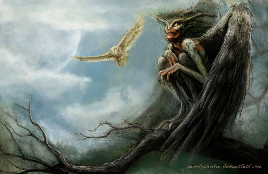 Нечисть в славянской мифологии – список существ, древнерусская демонология