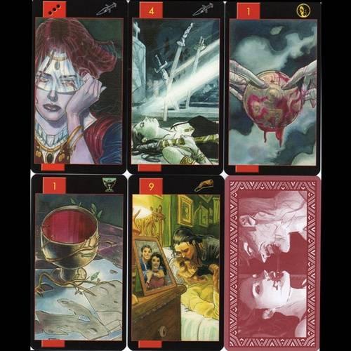Таро вампиров фантасмагория: галерея, история создания, кому подойдёт колода