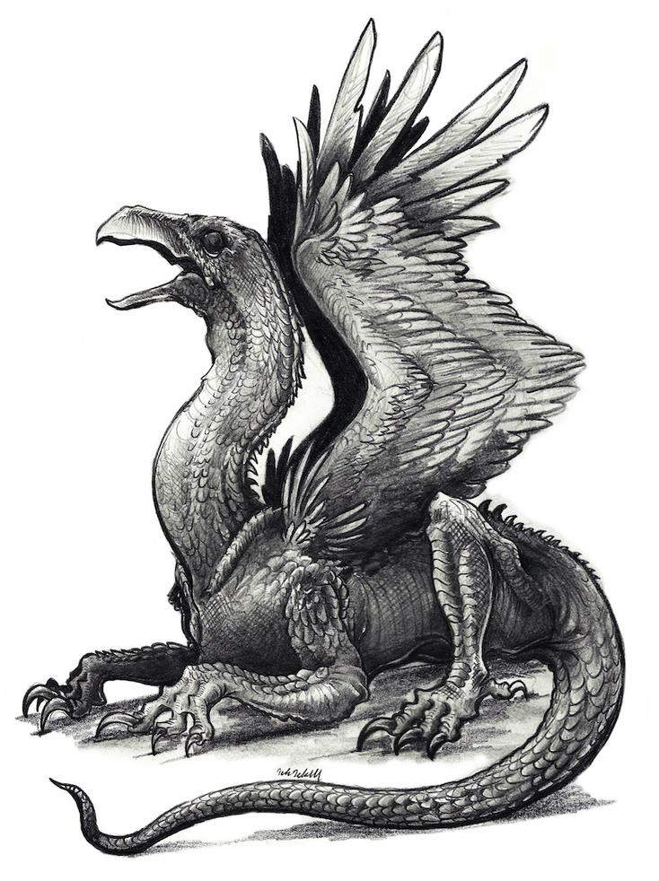 Василиск: мифология, происхождение и характеристики
