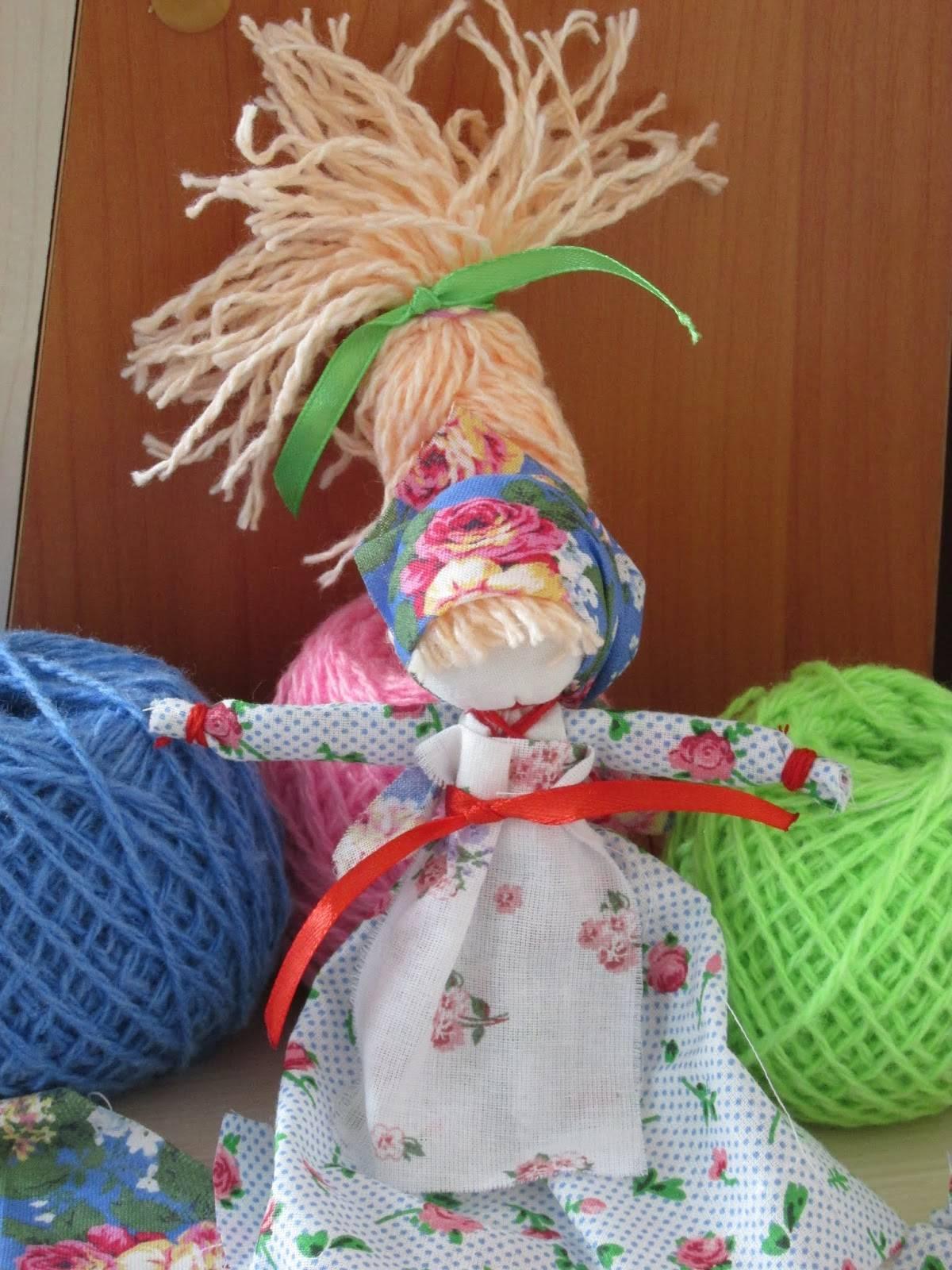 Кукла веснянка своими руками, мастер класс