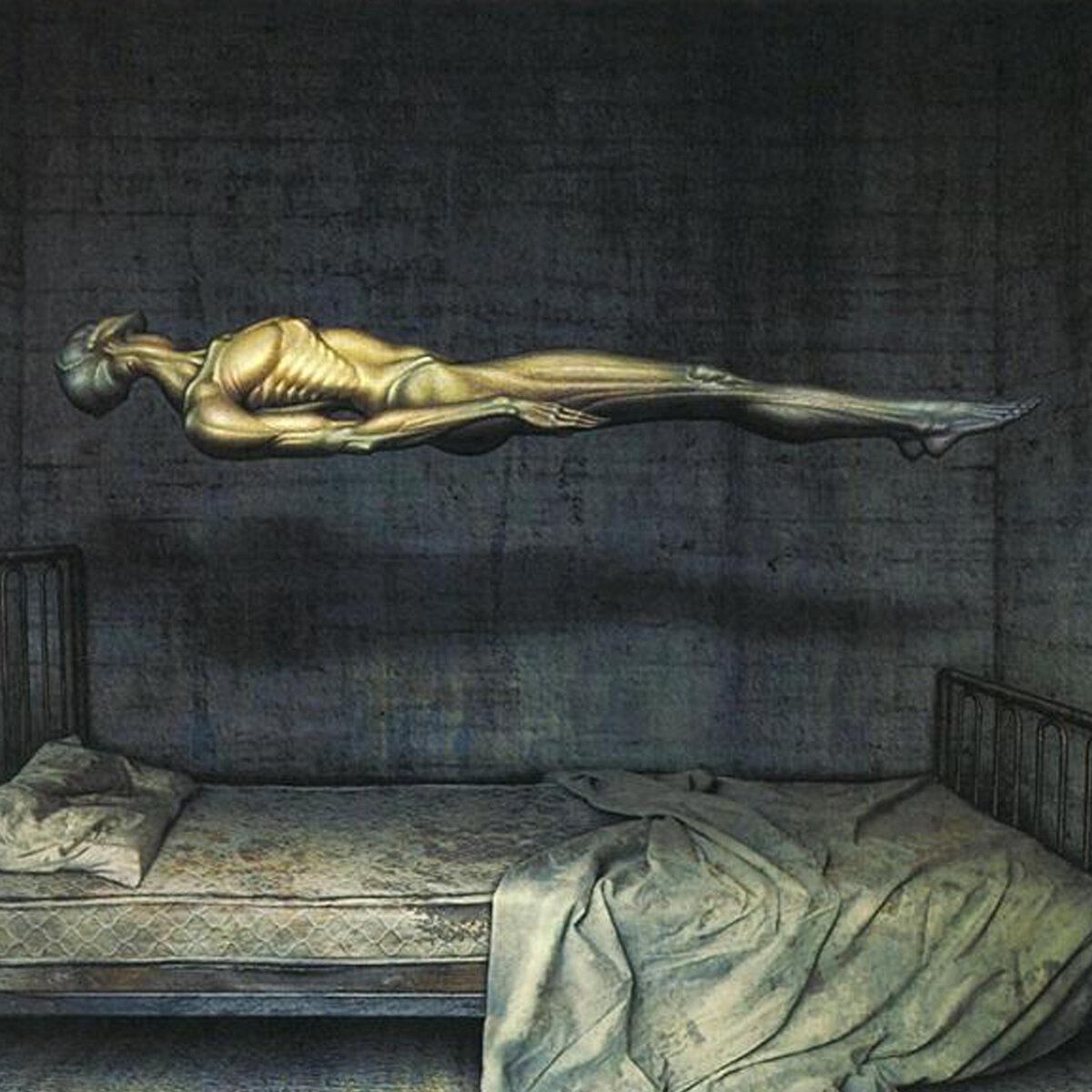 Состояние канашибари (сонный паралич), которым пользуются пришельцы для похищения людей
