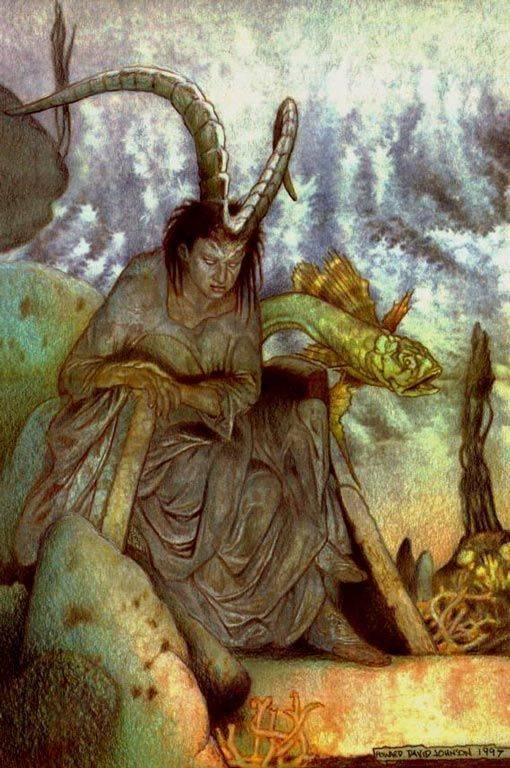 Вожо — сезонные духи, предки и нечистая сила. мифы финно-угров