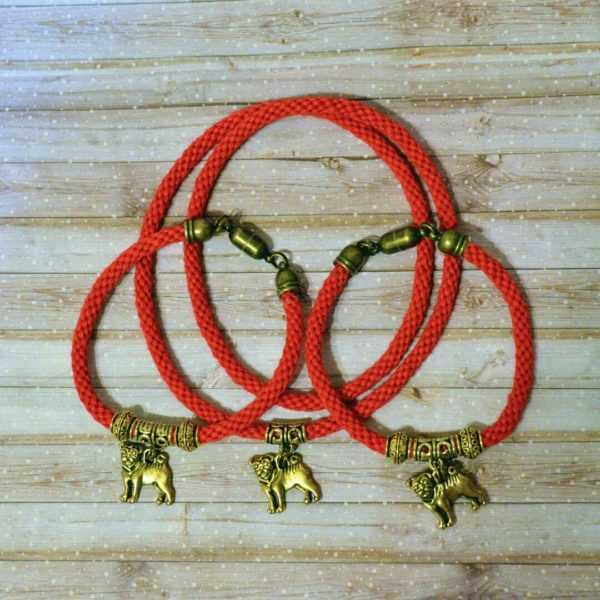 Оберег для собаки своими руками: схемы плетения, вышивки, вязания