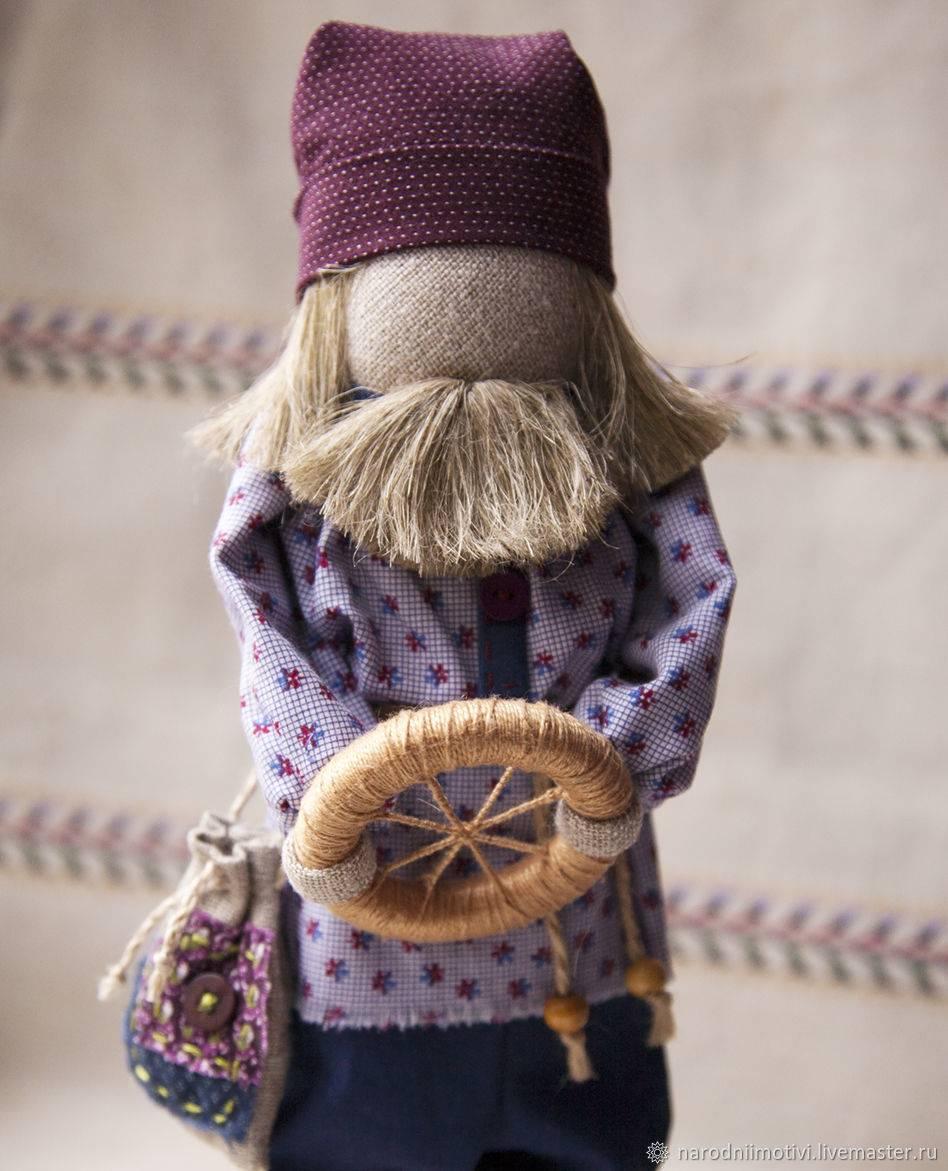Славянская обережнай кукла спиридон-солнцеворот, в чем ее сила и кому подойдет