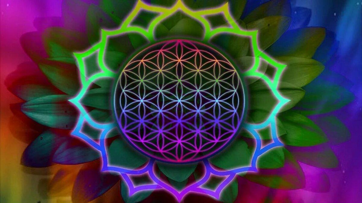 Мандала цветок жизни: мандала исполнения желаний, значение