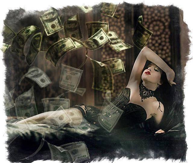 Черная магия на деньги, богатство, удачу