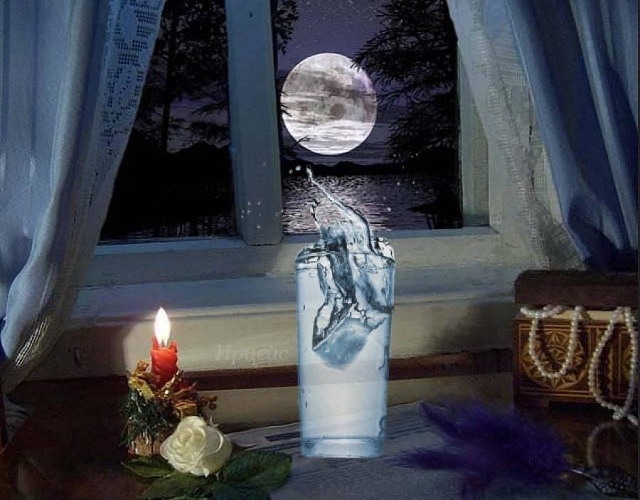 Гадание на стакане с водой. гадание на воде и стаканах приоткроет завесу тайн