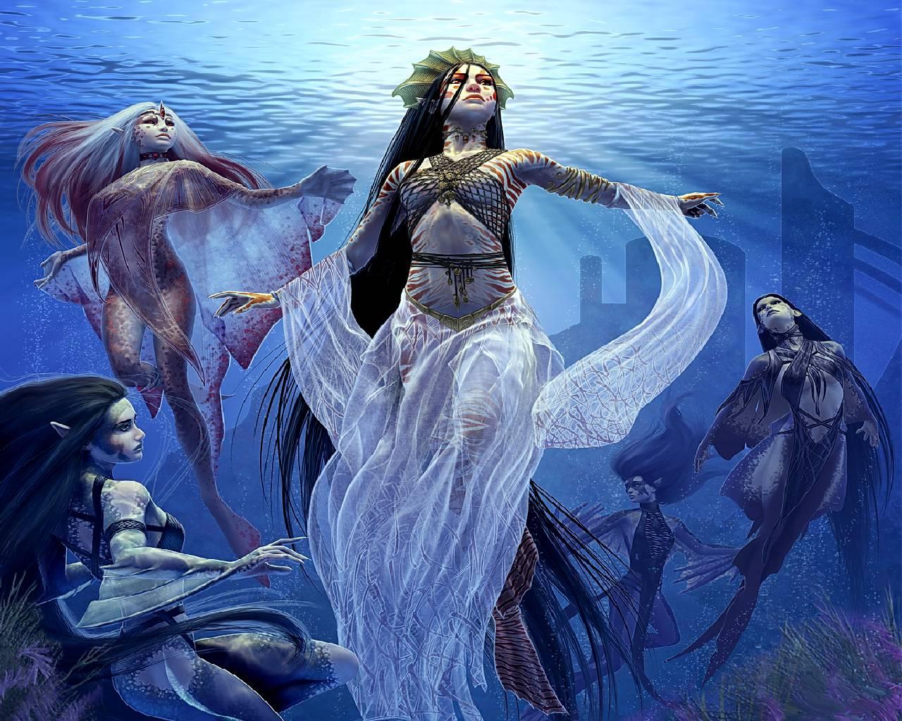 Нереиды. нереиды — морские сестры из греческой мифологии кто такие нереиды в древней греции