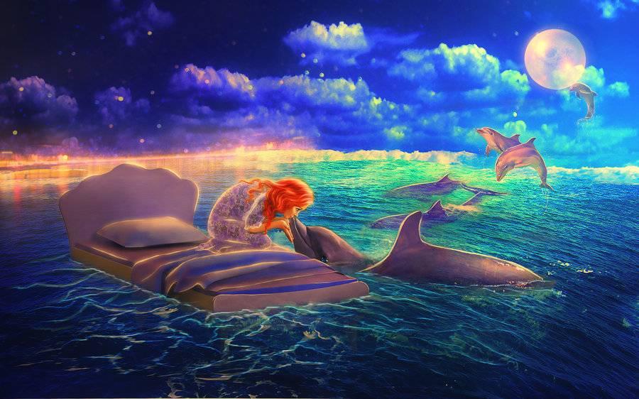 Дельфин во сне – к удаче или к краху всех надежд