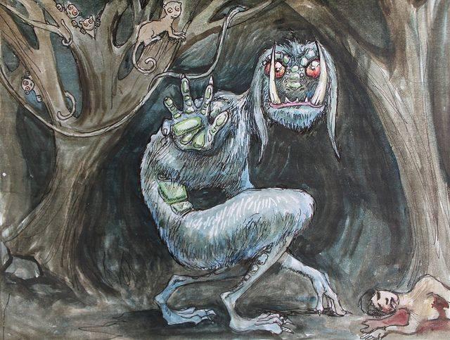 Сальванелли — проказливые существа из легенд Италии