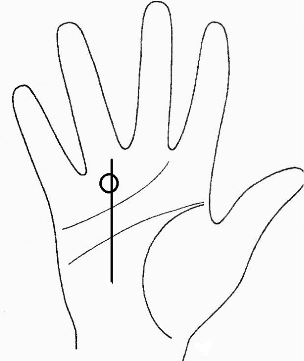 Линия удачи на руке – узнайте счастливчика судьбы | узнай свою судьбу