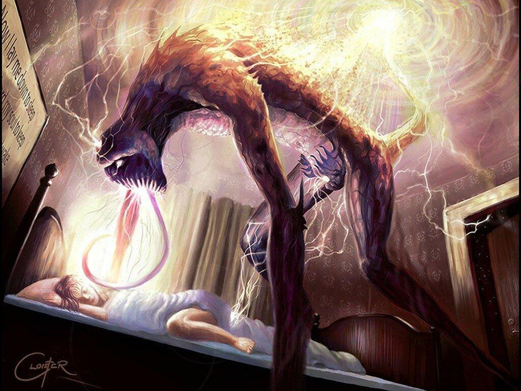 Приснилась нечистая сила к чему. демон во сне — на что он способен и как изгнать нечистую силу из сновидений