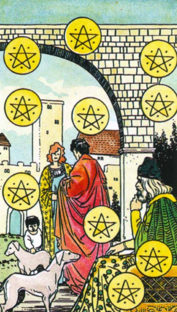 Королева пентаклей таро - значение и тракровка карты при гадании