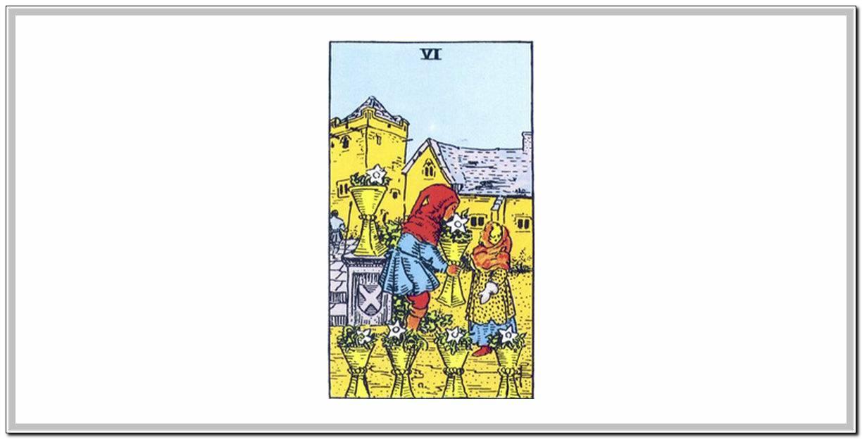 Значение карты таро ― тройка кубков (чаш)