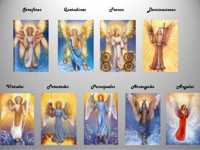 Чем отличаются ангелы и архангелы   школа магии забытые знания