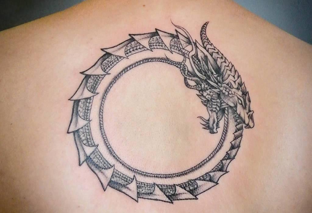 60+ мифический уроборос идеи татуировки – что посеешь то и пожнешь