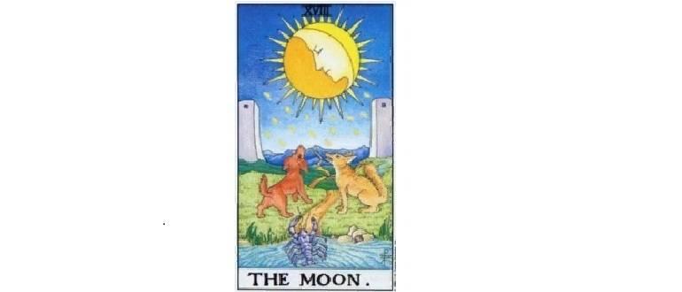 Луна таро: значение 18 аркана, сочетание с другими картами в раскладах