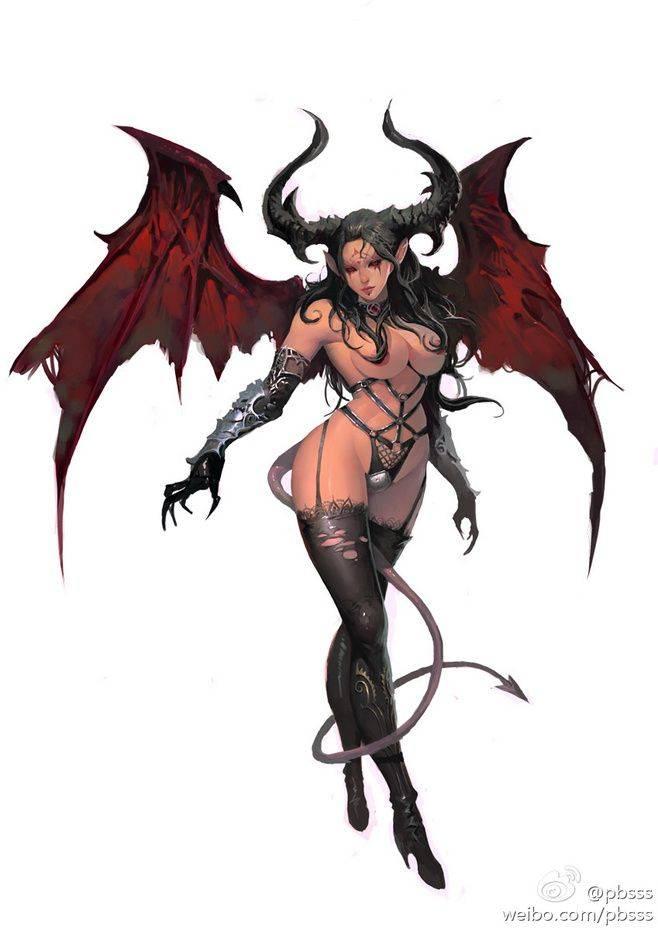 Каких демонов называют суккубами и инкубами