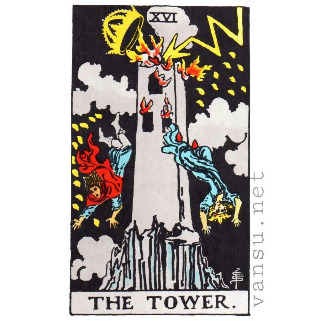 Башня таро манара: общее значение в отношениях, чувствах, толкование