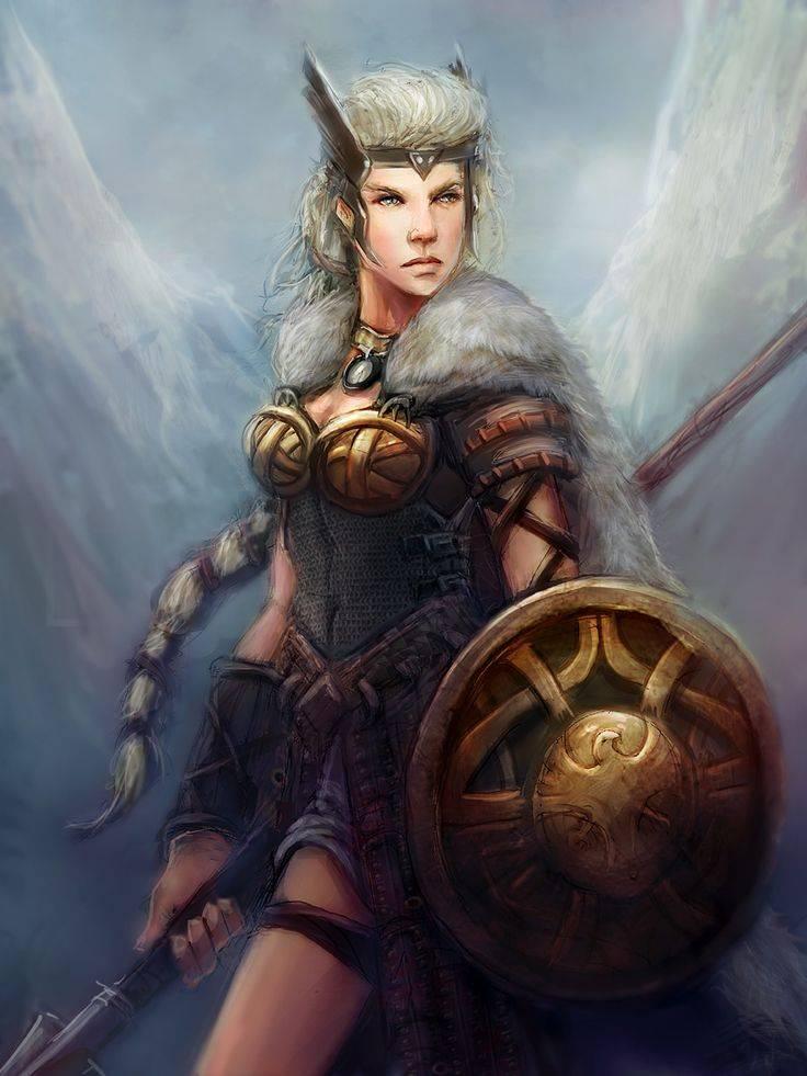 Валькирия — бесстрашная дева-воительница
