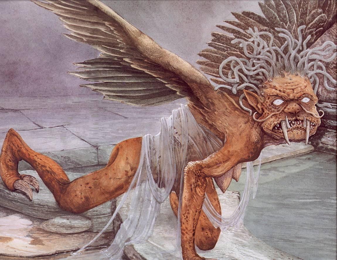 Горгоны — широко известные монстры из греческих легенд