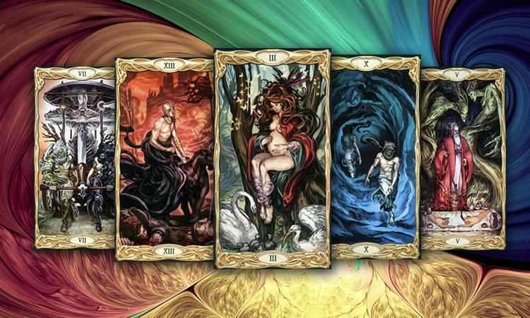Галерея колоды таро драконов - помощник удачи