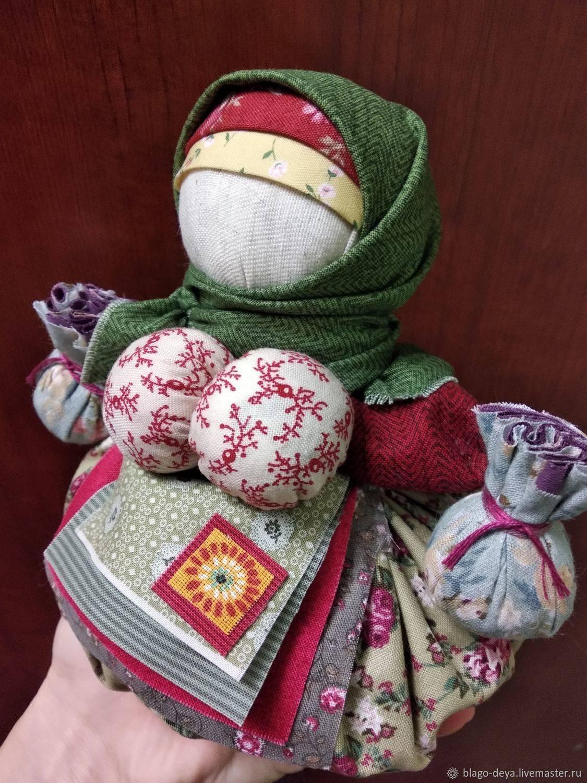 Кукла кубышка травница своими руками – значение, описание, поэтапный мастер-класс для создания оберега