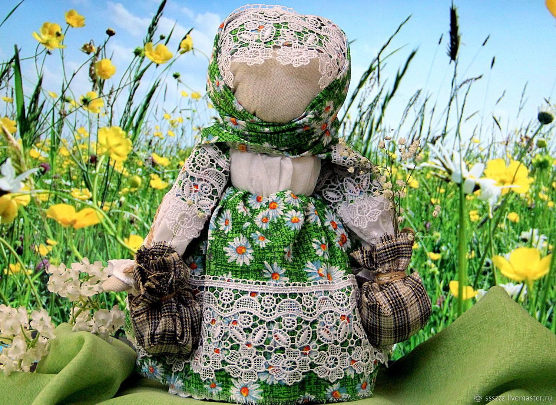 Кукла кубышка-травница своими руками