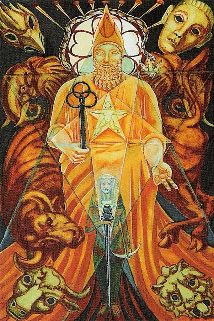 Значение иерофанта (верховного жреца) в картах таро