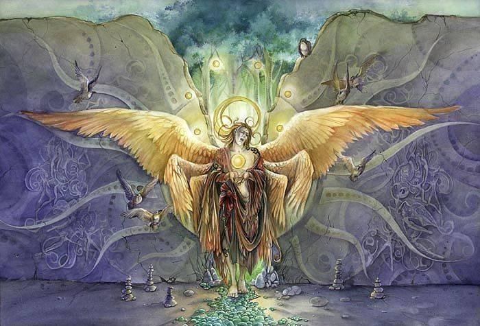 Архангел задкиил — воплощение фиолетового пламени и молитвы к нему