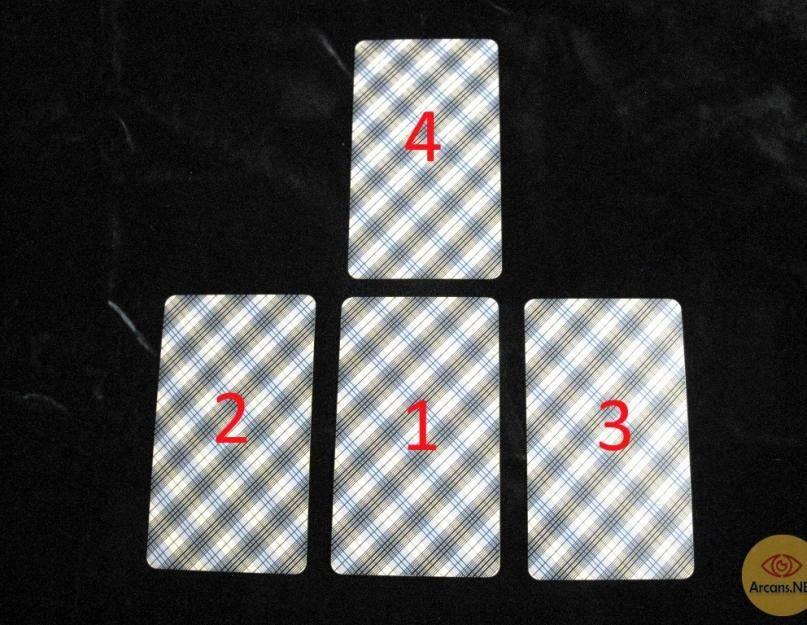 Таро пирамида влюбленных гадание на отношения на 4 карты