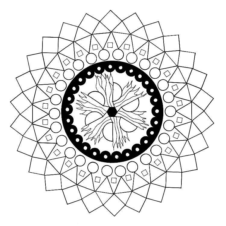 Построение числовой мандалы программа. расшифровка мандалы — как узнать, что скрывают символы