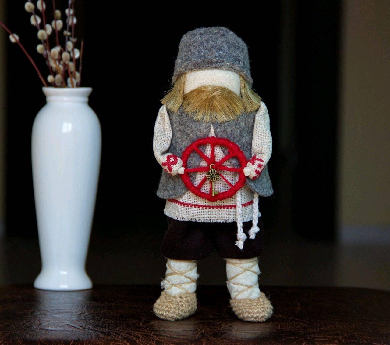 Кукла оберег спиридон-солнцеворот