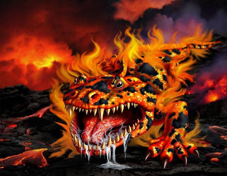 Элементаль огня (homm iv)