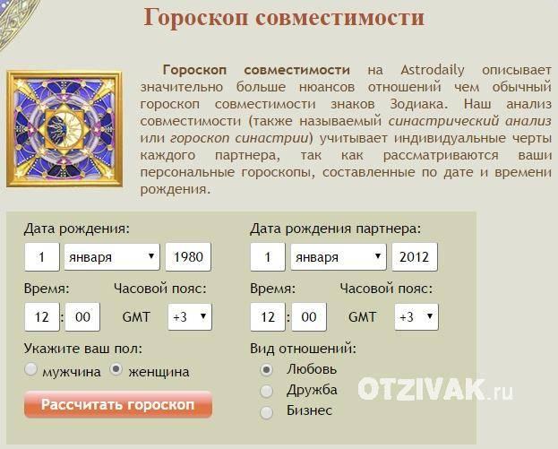 Совместимость по дате рождения (100% гороскоп совместимости). бесплатно, онлайн