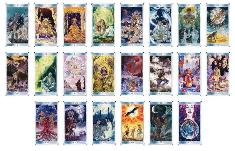 Таро шаманов: галерея и значения карт   все таро