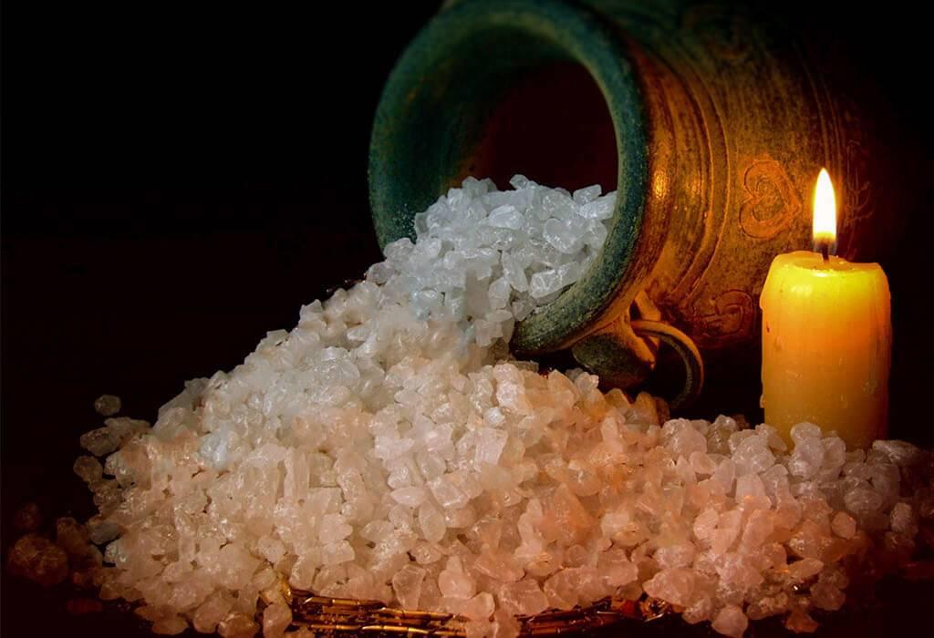 Как сделать приворот на соли