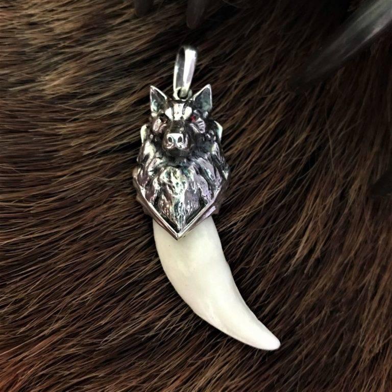 Талисман волчий клык – да прибудет сила природы - мои правила