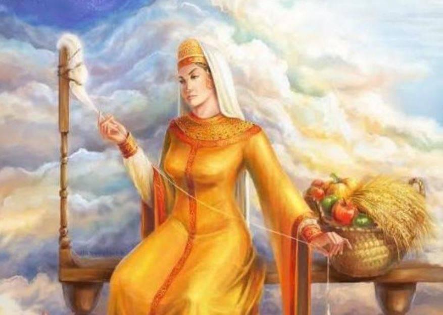 Берегиня — славянская богиня, посвященный ей праздник и кукла-оберег берегиня