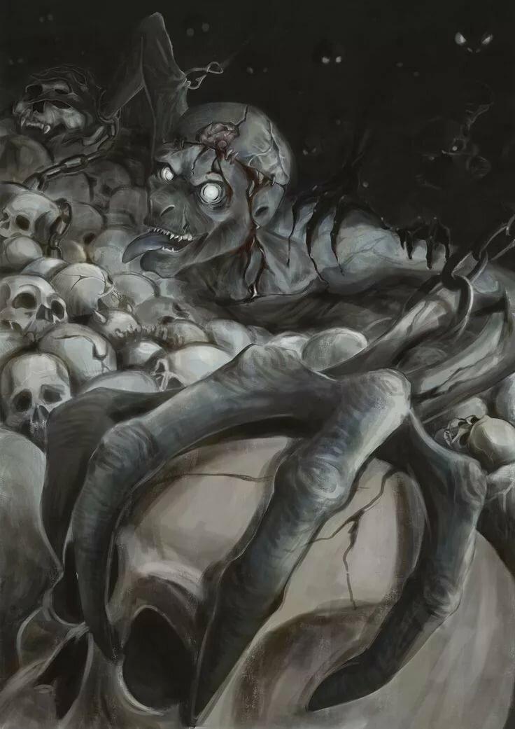 Бенни — существа-прачки, предвещающие смерть