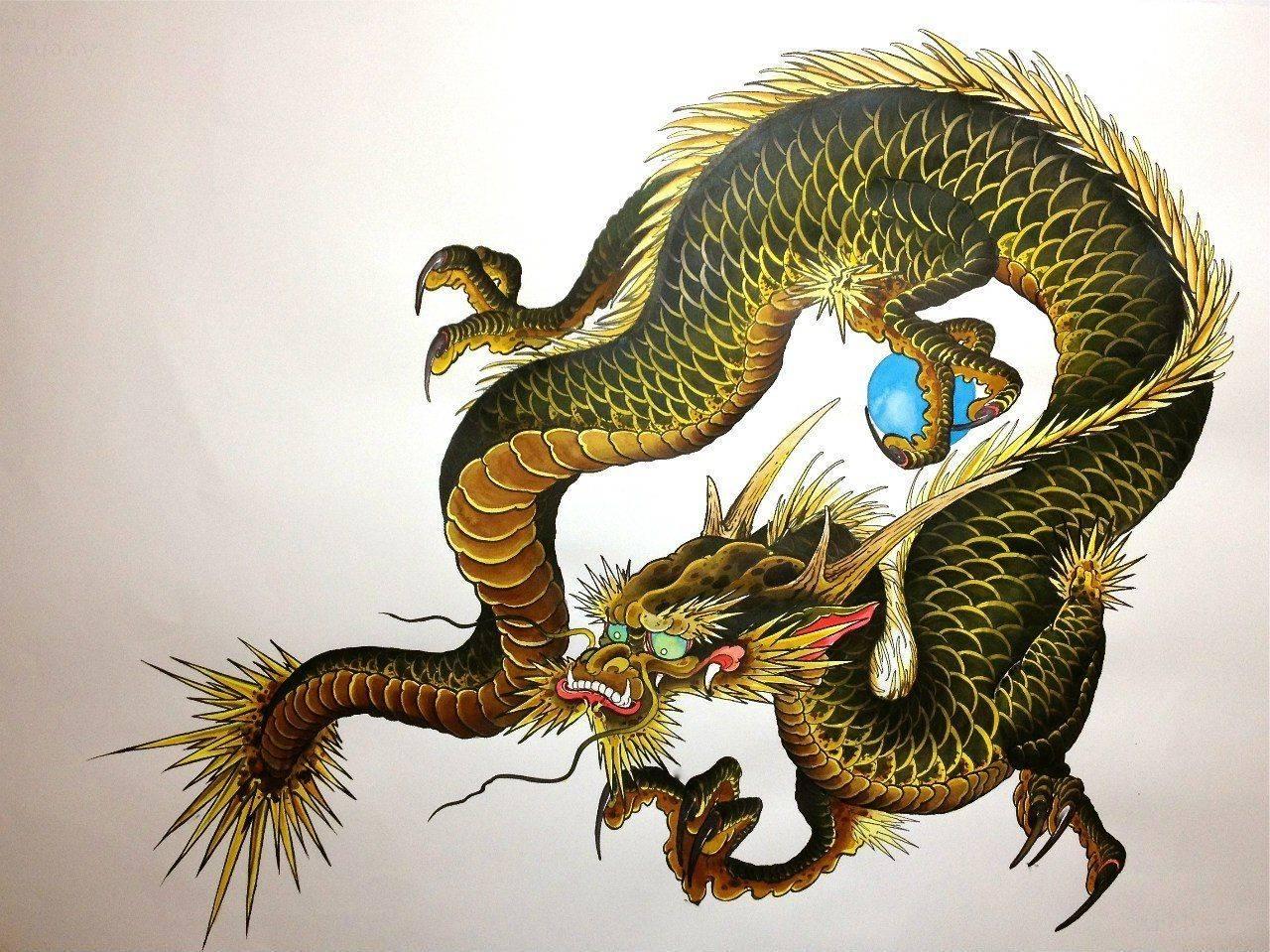 Тату дракон: на плече, мужские, эскиз, значение, на руке, для девушек, на спине, фото