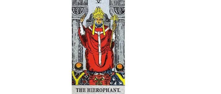 Верховный жрец (иерофант) в таро -  значение в отношениях, карьере, сочетание