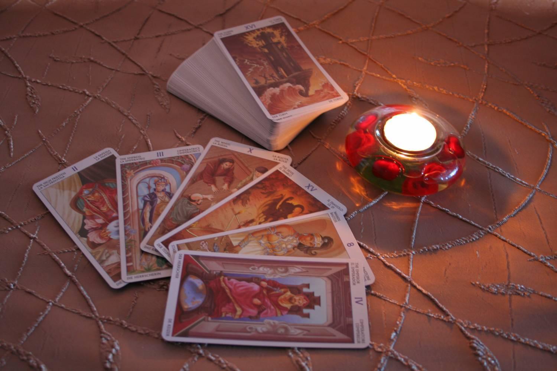 Екатерининское гадание по трем карточкам