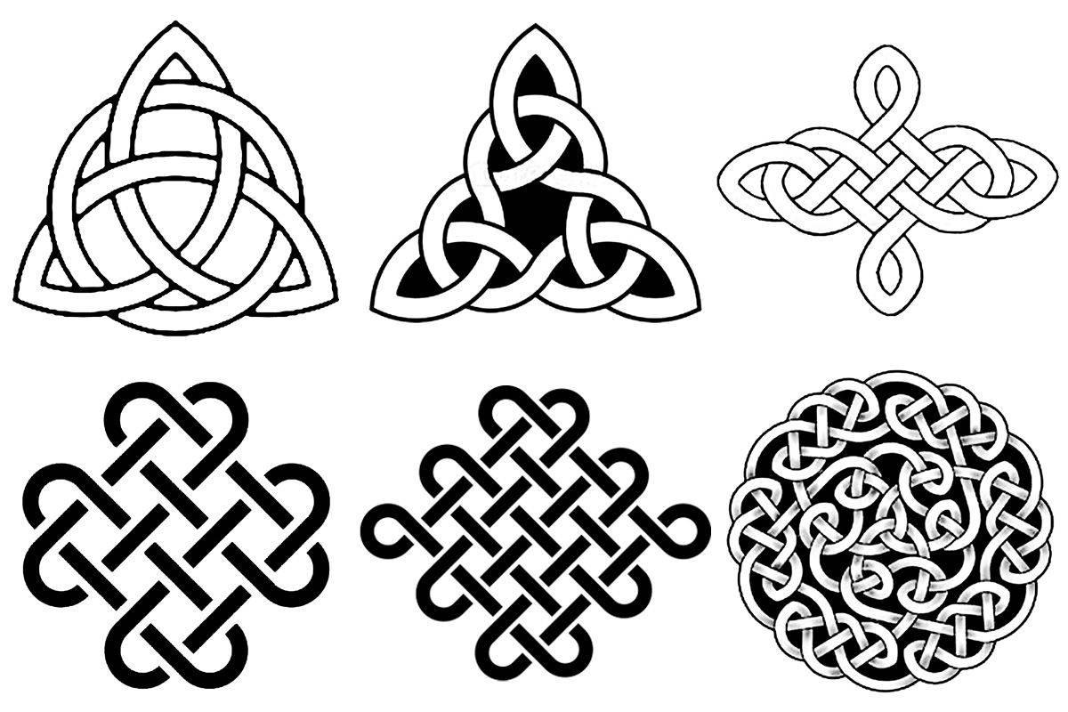 Кельтские узоры: расшифровка значений символов