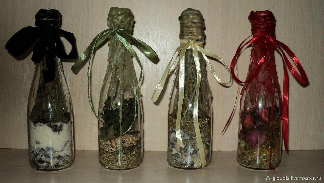 Ведьмина бутылка — древние тайны изготовления